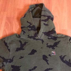 Green Camouflage Hundreds Hoodie!